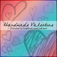 Handmade Valentine - PS7 by lisaedson