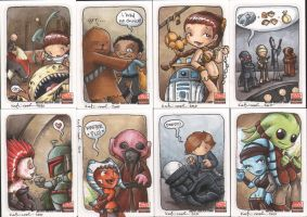 star wars galaxy5 cards3 by katiecandraw