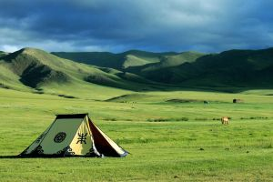 steppe mongolia by aggix