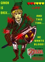 Zelda: Link's Revenge by cheshirecatart