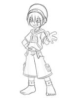 Modern Toph Doodle by rongs1234