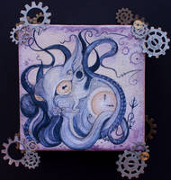 + Karou the Octopussy + by ShePaintsWithBlood
