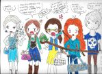 From Fashion Sketch To Comic Strip by Krisslyssa