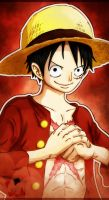 Monkey D. Luffy Coloring by FajerPS