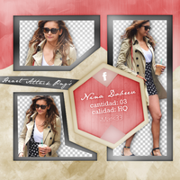 +Photopack png de Nina Dobrev. by MarEditions1
