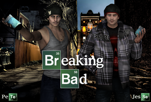 XNA -  Breaking Bad - Jesse And Skinny Pete DL by SovietMentality