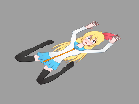 Chitoge Flattened by DaAussie