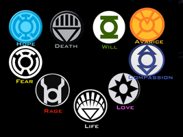 DC Lantern Corps Wallpaper by BobTheEgg