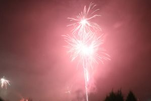 Fireworks Stock 11 by Malleni-Stock
