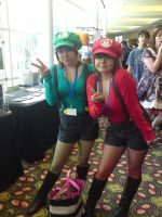 AM2010 Cute Mario Bros by L-Angelo15
