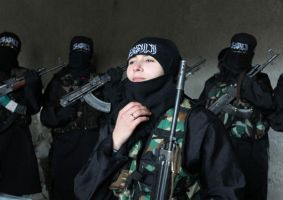 syria-women-fighting by saudi6666