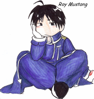 Roy Sitting down by roy-mustang