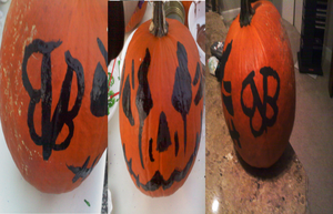 BVB pumpkin by slipknot012345678