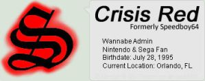 CrisisRed ID by NS-Games