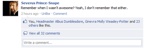 Snape's Awesomeness by mvishhungry731