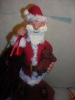 close up of Santa by Celtic-Dragonfly