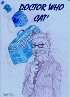 DOCTOR WHO CAT' by SarayPeke85