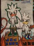 Modern and Classic Silver The Hedgehog by Sonicbandicoot2