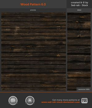 Wood Pattern 6.0 by Sed-rah-Stock
