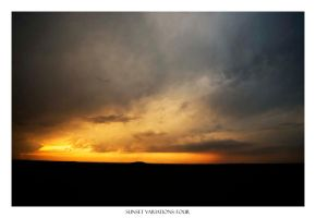 sunset variations: four by Pixla