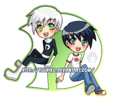 Keychain- Danny Phantom by Yuuhiko