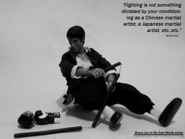 BRUCE LEE IN HIS OWN WORDS 3 by RAMAHYDE