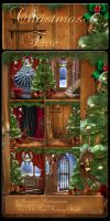 Christmas Eve 2 backgrounds by moonchild-ljilja