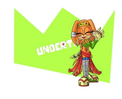 Tikal undertale outfit by TheDarkShadow1990