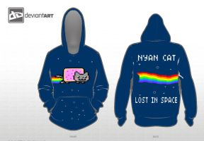 Nyan Cat: Lost in space by KadenciyaVandervayz