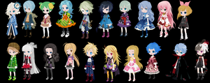 20 free adoptables! :CLOSED: by ChibiKawaii123
