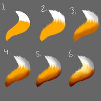 Tail/Fur Tutorial by FattyBatty