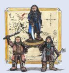 Thorin and his Nephews by Demon-Marimo