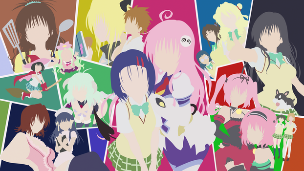 To Love-RU Minimalism by killernet16