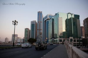 Buildings around Sharjah by QueenSheba24