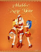 Happy new year (Fairy Tail) by AllMore