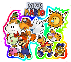 papermario  owo XD by marshie-chan