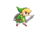 Toon Link Pixelart by Mi8Am