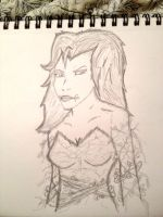 Poison Ivy - WIP by BenSoulstone