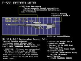 M-550 Reconcilliator by AdmiralTigerclaw