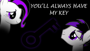 You'll always have my key by shadowprince116