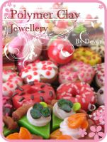 polymer clay sweets by Devor-Sparrow