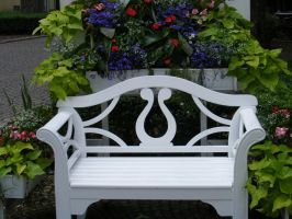 Neat Park Bench by Lengels-Stock