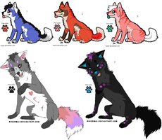 Bright Wolves by Kainaa