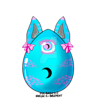 [Auction]Werecat HollowCreed Egg [Hatched] by Mockingx