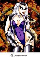 Sindel by Garrett Blair by Mythical-Mommy
