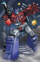 Power Master Optimus Prime: Transformers by ZeroMayhem