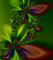 Fall colors ultra-fractal by SvitakovaEva