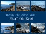 Rocky Shoreline Pack I by ElizaTibbits-Stock