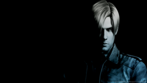 Leon Kennedy Wallpaper PS3 by JillValentinexBSAA