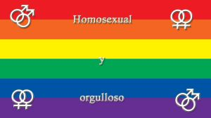 Homosexual and Proud -Spanish- by Cybergothgalore